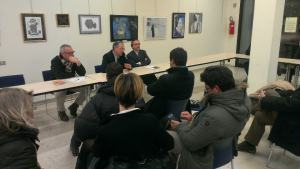 Iniziativa CPDV TARES del 13.02.2013, dibattito pubblico Chiude l'incontro pubblico sul nuovo tributo Comunale l'amministratore delegato di Veritas Andrea Razzini