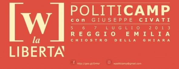 Politicamp - 5, 6 e 7 luglio,